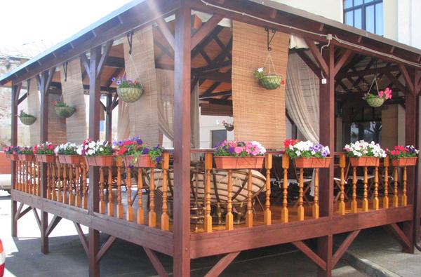Строительство летней веранды своими руками