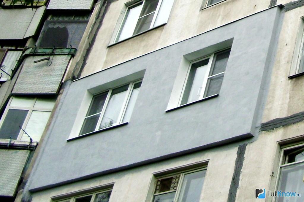 Утепление панельных строений