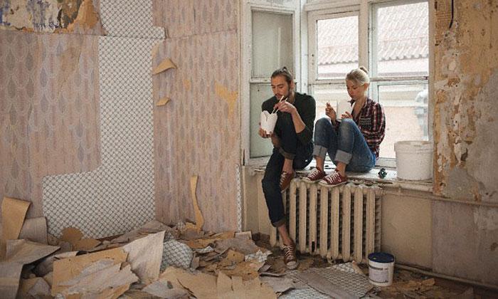 Самостоятельная роспись стен акварелью — новый, набирающий популярность тренд 2018 — 2019 годов