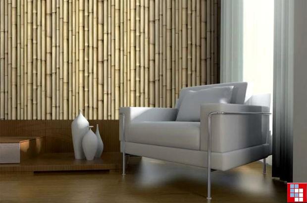 Бамбуковые 3D панели