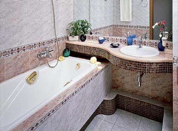 Десять наилучших вариантов — 2019 года ремонта небольших ванной комнаты и совмещенного санузла по бюджетному варианту