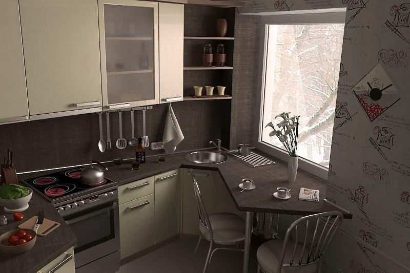 Фартук в кухне можно менять под настроение! Кухня сразу приобретет другой вид