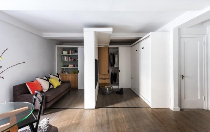 Зонирование небольшой квартиры. Думаете, что нет ничего нового?