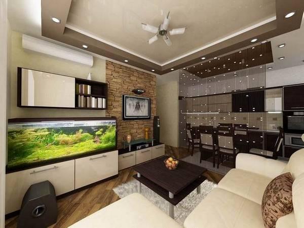 А говорят, что в небольшой квартире невозможно сделать нормальный дизайн?