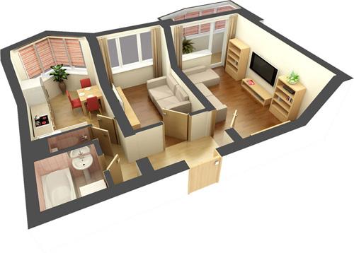 В тренд входит дизайн жилья в стиле 50-х, 60-х годов. И старую мебель можно использовать и новая недорогая!