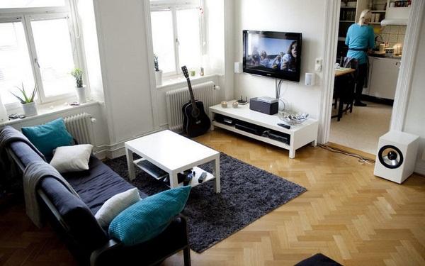 Для небольших квартир обустройство кухни — гостиной становится спасительным решением