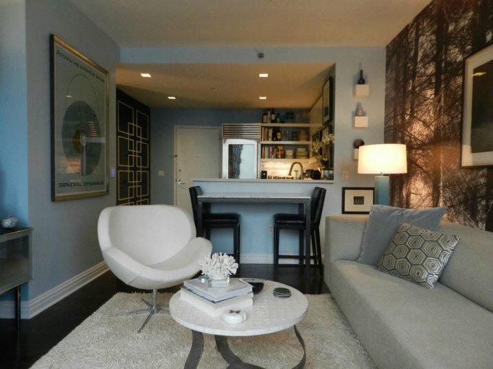 Как маленькую квартиру полностью преобразить с помощью обычного освещения