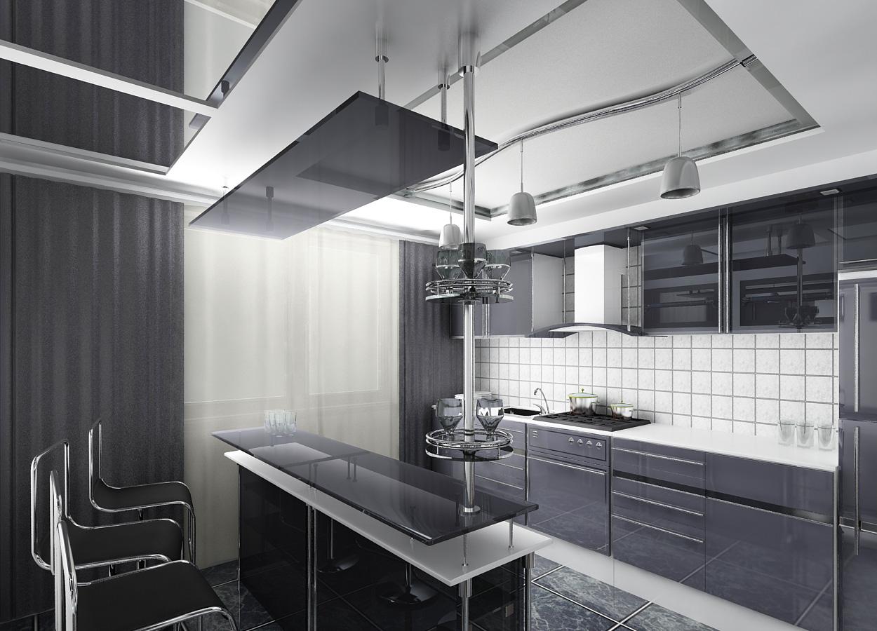 Особенности стиля Hi Tech в маленьких квартирах