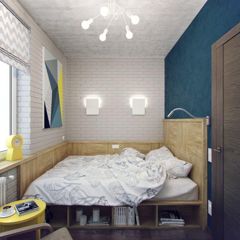 Как в маленькой спальне разместить все что нужно и даже больше