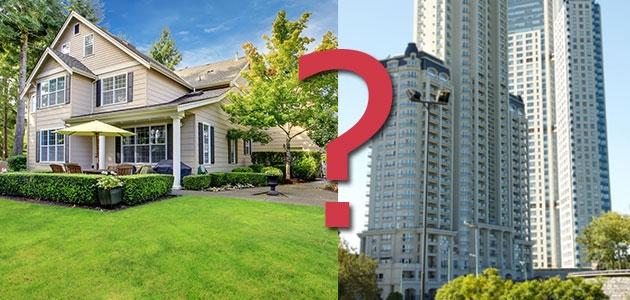 Что выбрать: частный дом или квартиру